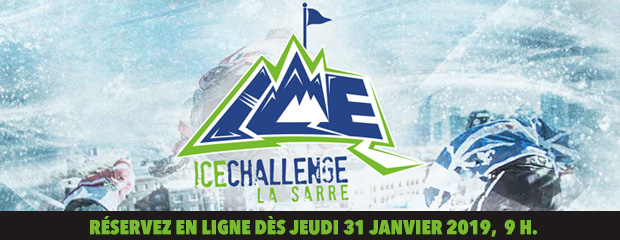 2019 La Sarre Ice Challenge