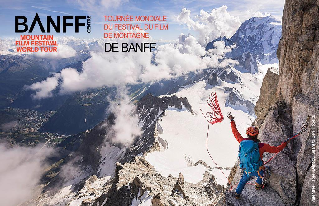 RAB ET BANFF & LAKE LOUISE présentent Festival du film de montagne de Banff